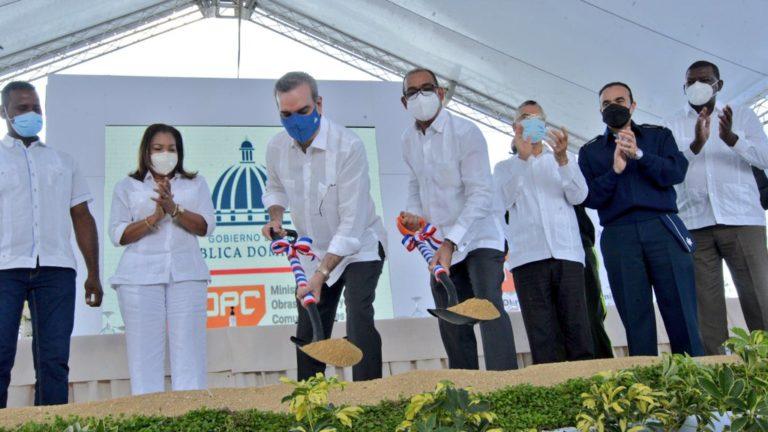 Comienzan trabajos de ampliación de la avenida Hípica en Santo Domingo Este