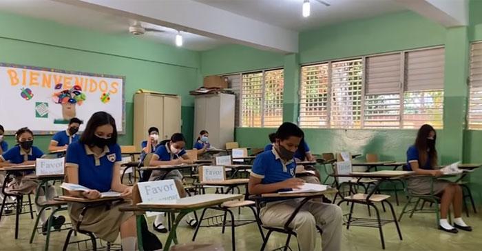R.Dominicana retoma clases presenciales el 6 de abril con alumnos de primaria